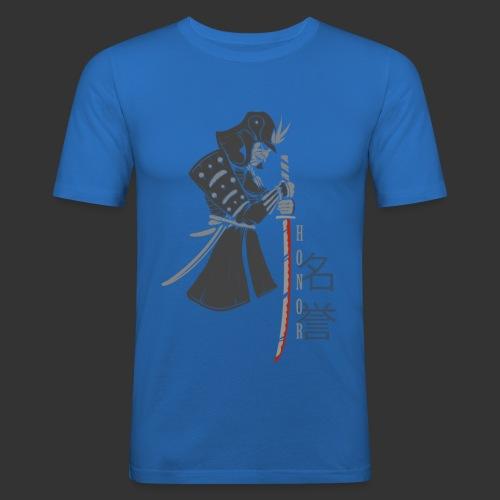 Samurai Digital Print - Men's Slim Fit T-Shirt
