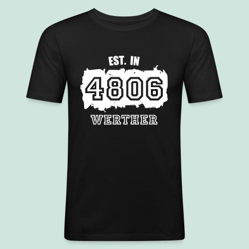 Established 4806 Werther - Männer Slim Fit T-Shirt