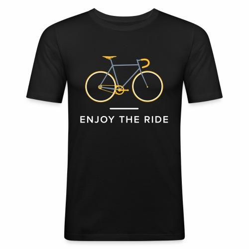 Vintage Racing Bike Retro Cycling T-Shirt - Men's Slim Fit T-Shirt
