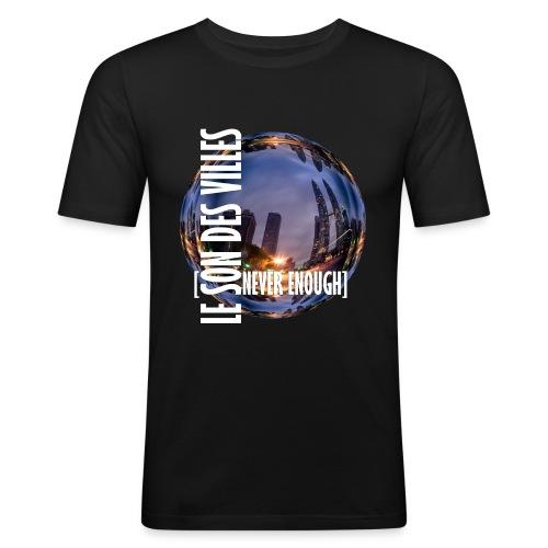Le Son Des Villes :world - T-shirt près du corps Homme