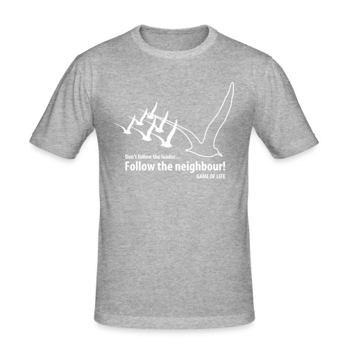new emergence - Mannen slim fit T-shirt
