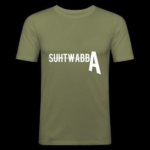 Suhtwabba FRESH - Miesten tyköistuva t-paita