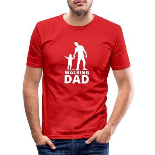 The walking dad - T-shirt près du corps Homme