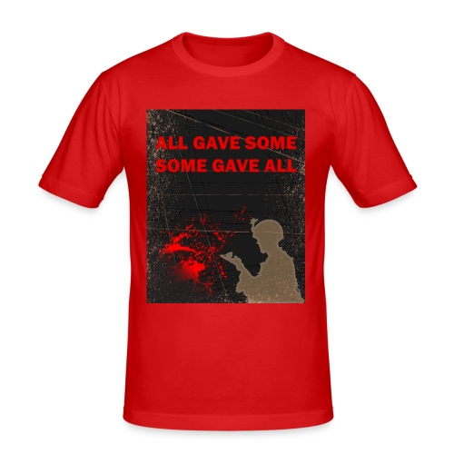 All gave some - Herre Slim Fit T-Shirt