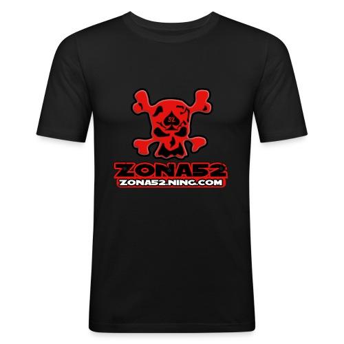 Old Logo del clan zona52 - Camiseta ajustada hombre
