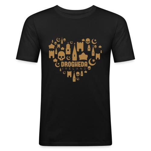 Drogheda Black - Men's Slim Fit T-Shirt