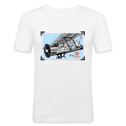 Doppeldecker - Männer Slim Fit T-Shirt