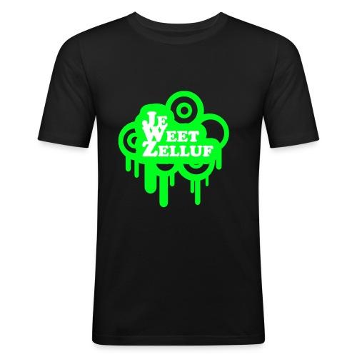 jwzgr - Mannen slim fit T-shirt