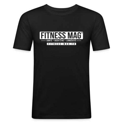 fitness mag2 - T-shirt près du corps Homme
