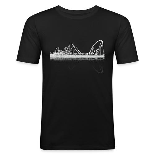 silverstar_weiss - Männer Slim Fit T-Shirt