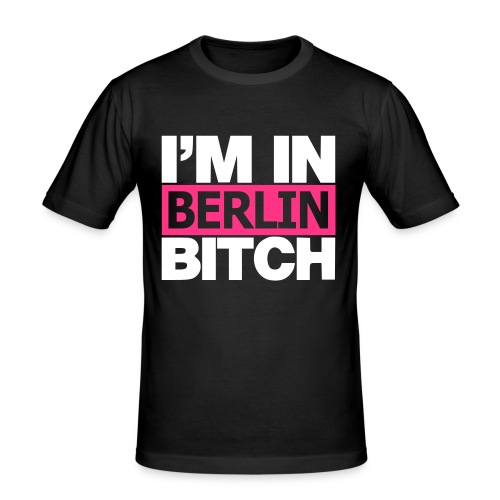 berlin - Männer Slim Fit T-Shirt