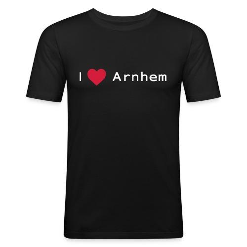 I love Arnhem wit - slim fit T-shirt