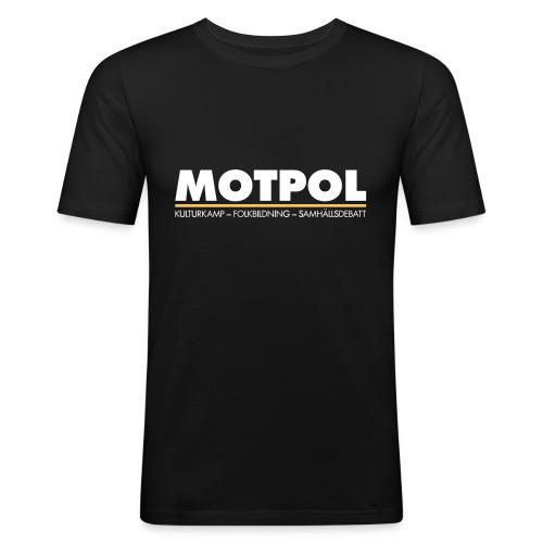 motpol3 - Slim Fit T-shirt herr