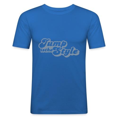 jumpisthestylepimp - Mannen slim fit T-shirt