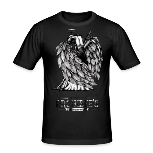 It's not the wings that make the angel. - T-shirt près du corps Homme