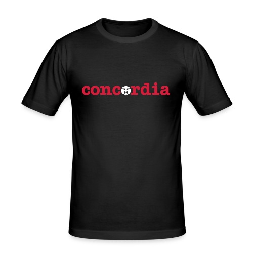 Concordia - Männer Slim Fit T-Shirt