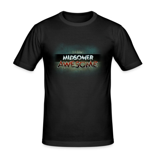 I m From Midsomer Awesome - Men's Slim Fit T-Shirt