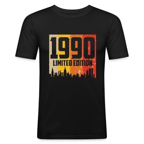 Vintage Geburtstag Limited Edition Jahrgang 1990 - Männer Slim Fit T-Shirt