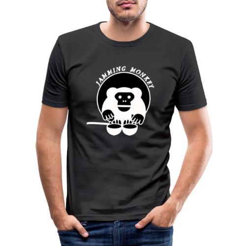 Jamming Monkey - T-shirt près du corps Homme