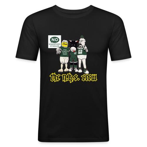 NKS Gangsta - Men's Slim Fit T-Shirt