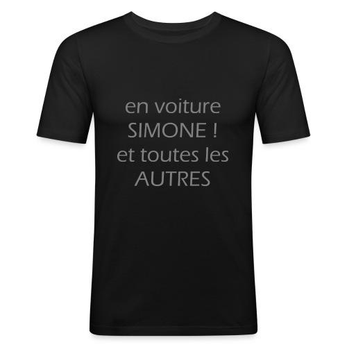 En Voitures SIMONE - T-shirt près du corps Homme