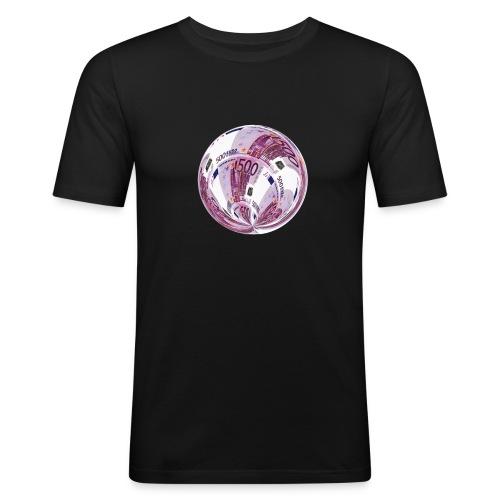 euro 500 schein - Männer Slim Fit T-Shirt