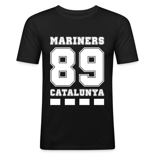 MarinersCatalunya White - Camiseta ajustada hombre