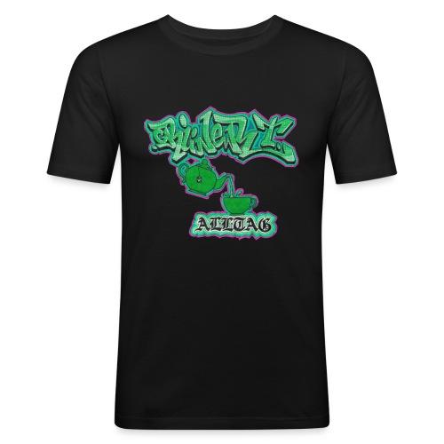 grüner t alltag png - Männer Slim Fit T-Shirt