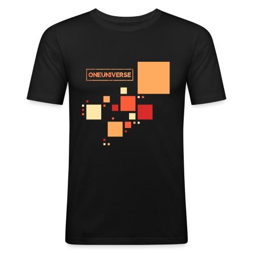 Colors by One Universe - Maglietta aderente da uomo