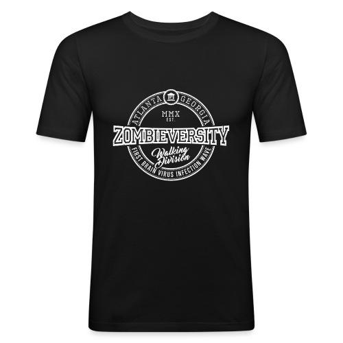 Zombieversity - Männer Slim Fit T-Shirt