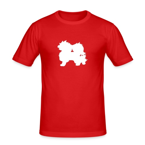 All white Arcanine Merch - T-shirt près du corps Homme