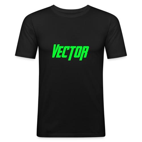 Vector Green - Maglietta aderente da uomo