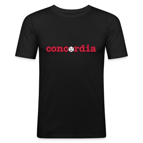 Concordia - Männer Slim Fit T-Shirt