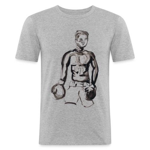 Muhammed Ali - T-shirt près du corps Homme