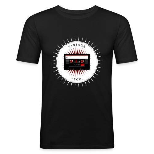 Vintage icons 06 - Audio cassette - Men's Slim Fit T-Shirt