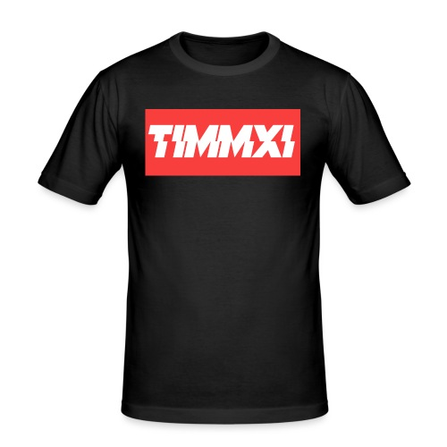 TimmXI T-shirt Zwart - slim fit T-shirt