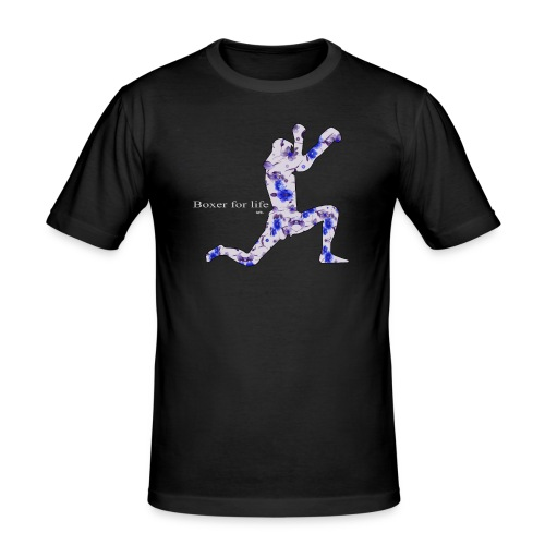 boxer for the life thay1b png - T-shirt près du corps Homme