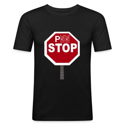 Pee Stop for Concert Goers! - Men's Slim Fit T-Shirt