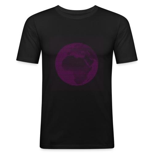Ascii-Love - Männer Slim Fit T-Shirt