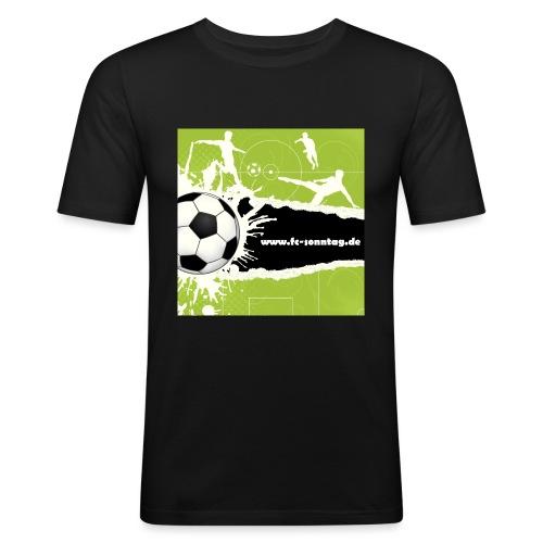 FC Sonntag Weblogo - Männer Slim Fit T-Shirt