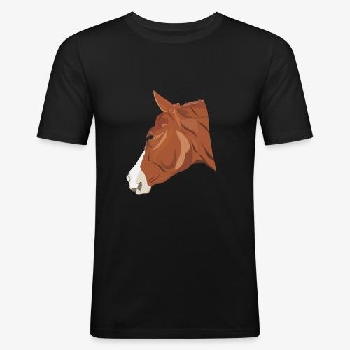 Quarter Horse - Männer Slim Fit T-Shirt