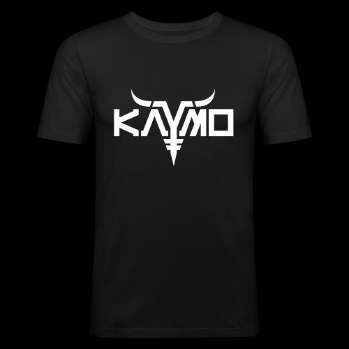 KayMo Logo - Slim Fit T-skjorte for menn