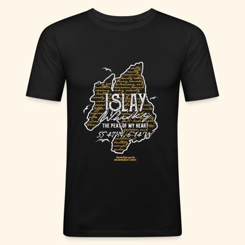 Tasting Notes Islay Whisky T Shirt Design - Männer Slim Fit T-Shirt