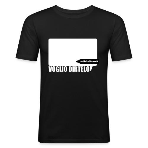 vogliodirtelo2011extended converted - Maglietta aderente da uomo