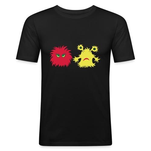 monster friends - Männer Slim Fit T-Shirt