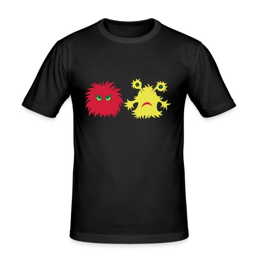 monster friends - Männer Slim Fit T-Shirt