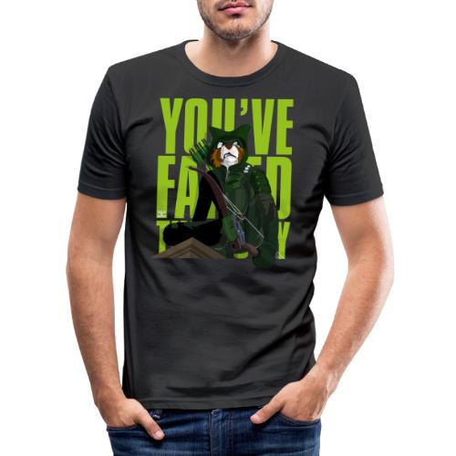 You've Failed This City - Men's Slim Fit T-Shirt