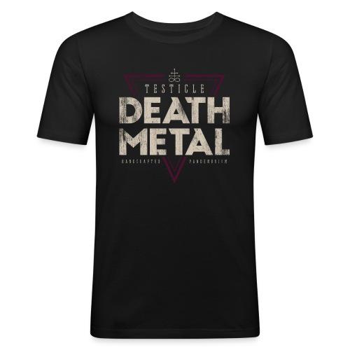 Testicle Death Metal Vintage - Männer Slim Fit T-Shirt