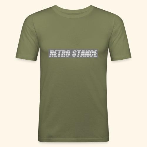 Retro Stance - Men's Slim Fit T-Shirt