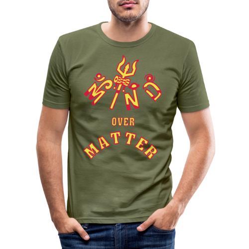 Mind over Matter - Herre Slim Fit T-Shirt